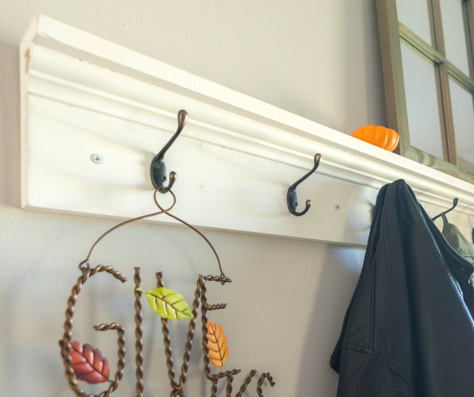 DIY Coat rack shelf Sprinkle of Joy Simple Large Coat Rack With Shelf
